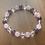 Thumbnail: Bracelet Améthyste, Quartz Rose, Cristal de Roche