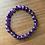 Thumbnail: Bracelet AMÉTHYSTE Foncée