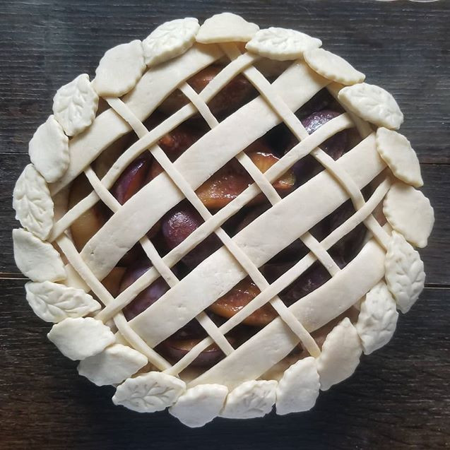 Can't wait to try this Plum-Port pie! It