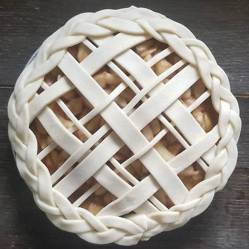 Spiced Apple Pear Pie