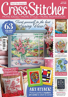Spring Window 356 Cross Stitcher cover s