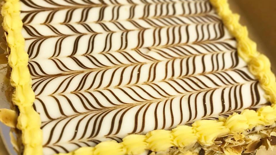 Millefeuilles cake