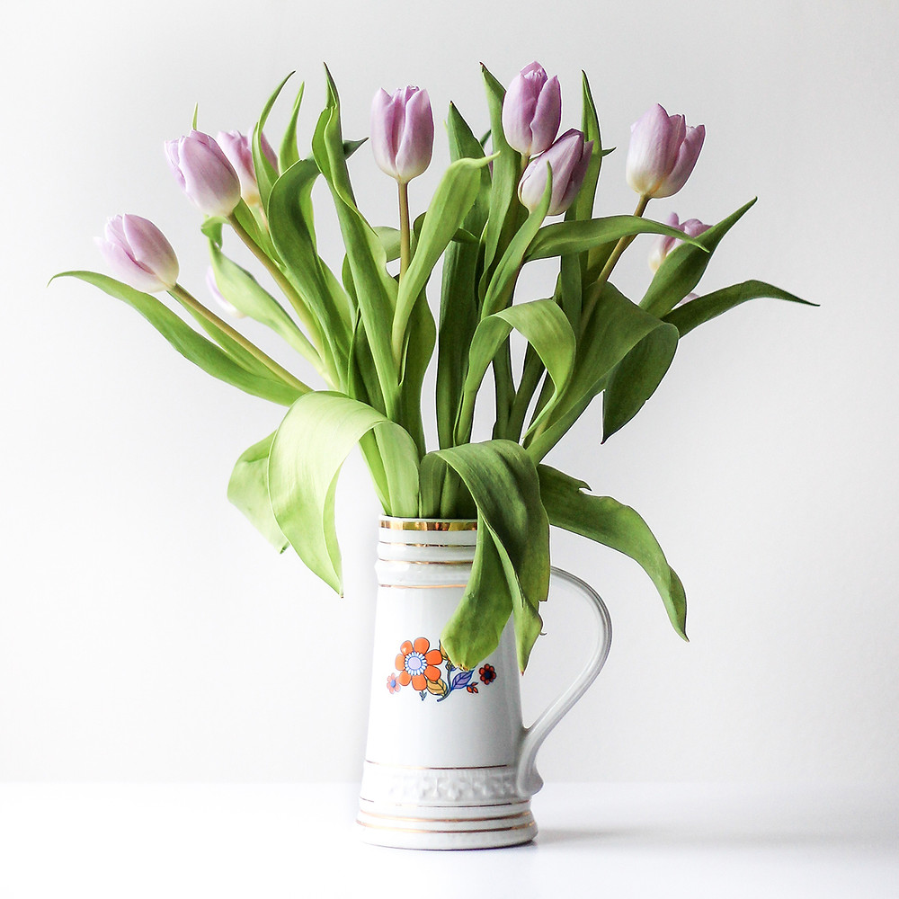 pink tulips fresh seasonal local flowers delivery milan bouquet