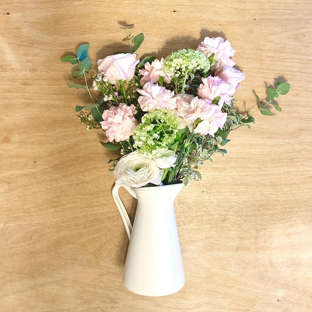 bouquet fiori freschi fai da te consegna domicilio spedizione gratis milano fiorista composizione floreale creatività regalo