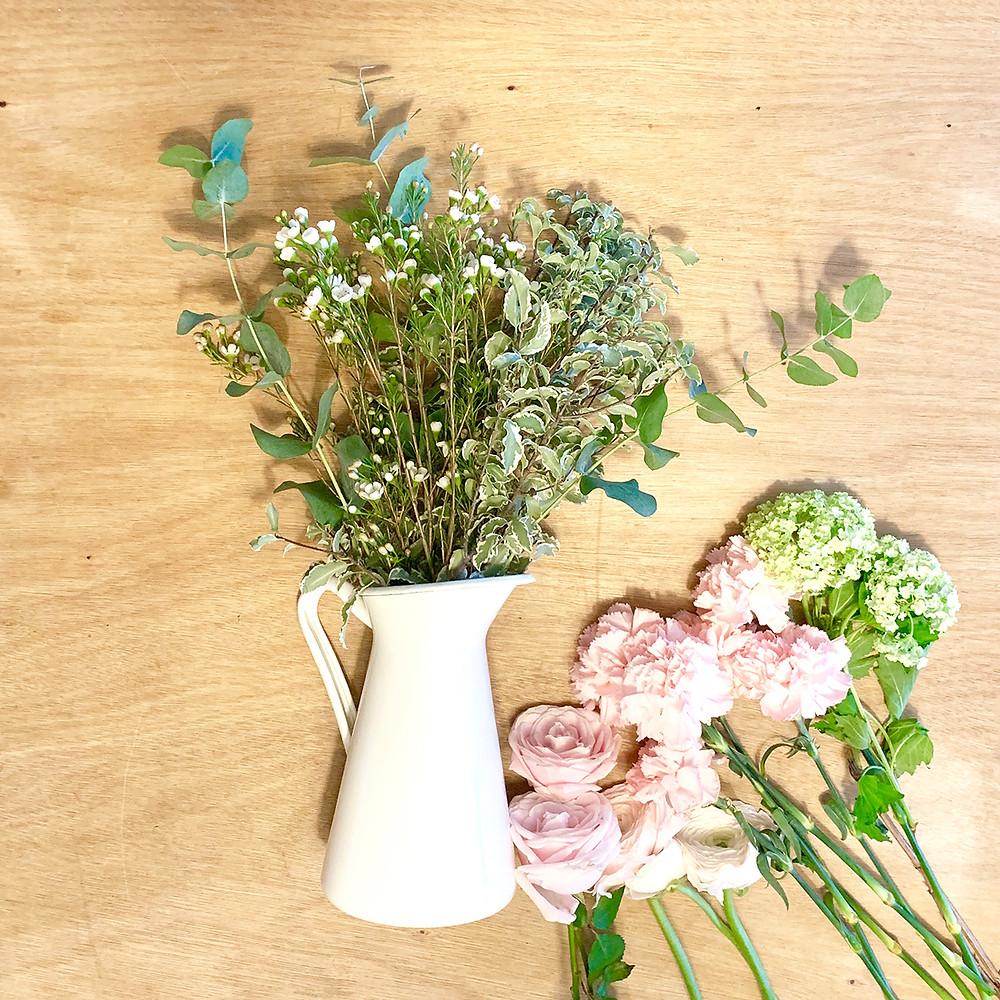 bouquet fiori freschi fai da te consegna domicilio spedizione gratis milano fiorista vaso