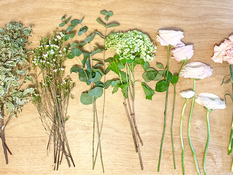 How to arrange your RAW Bouquet