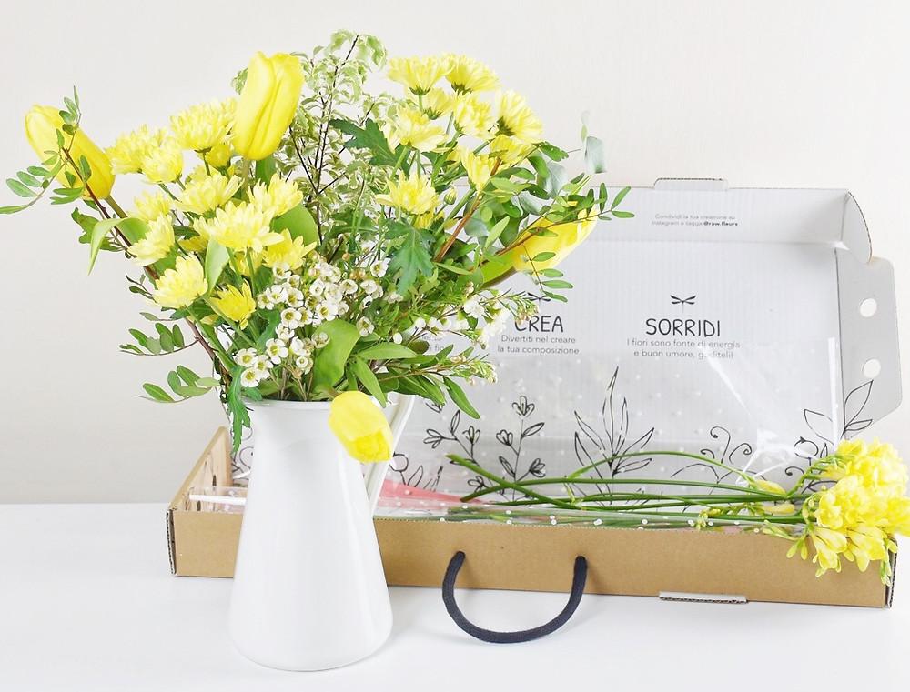 letterbox flowers consegna fiori freschi domicilio milano fiorista regalo