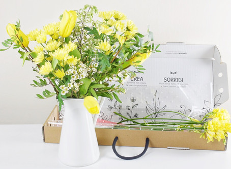 Why to send flowers in a box