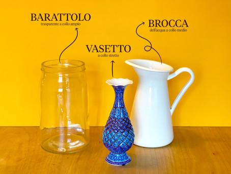Scegli il vaso perfetto per far splendere i tuoi fiori e allungare la loro vita