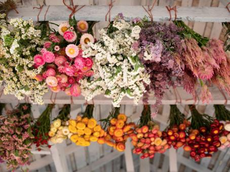 3 metodi per essiccare i fiori
