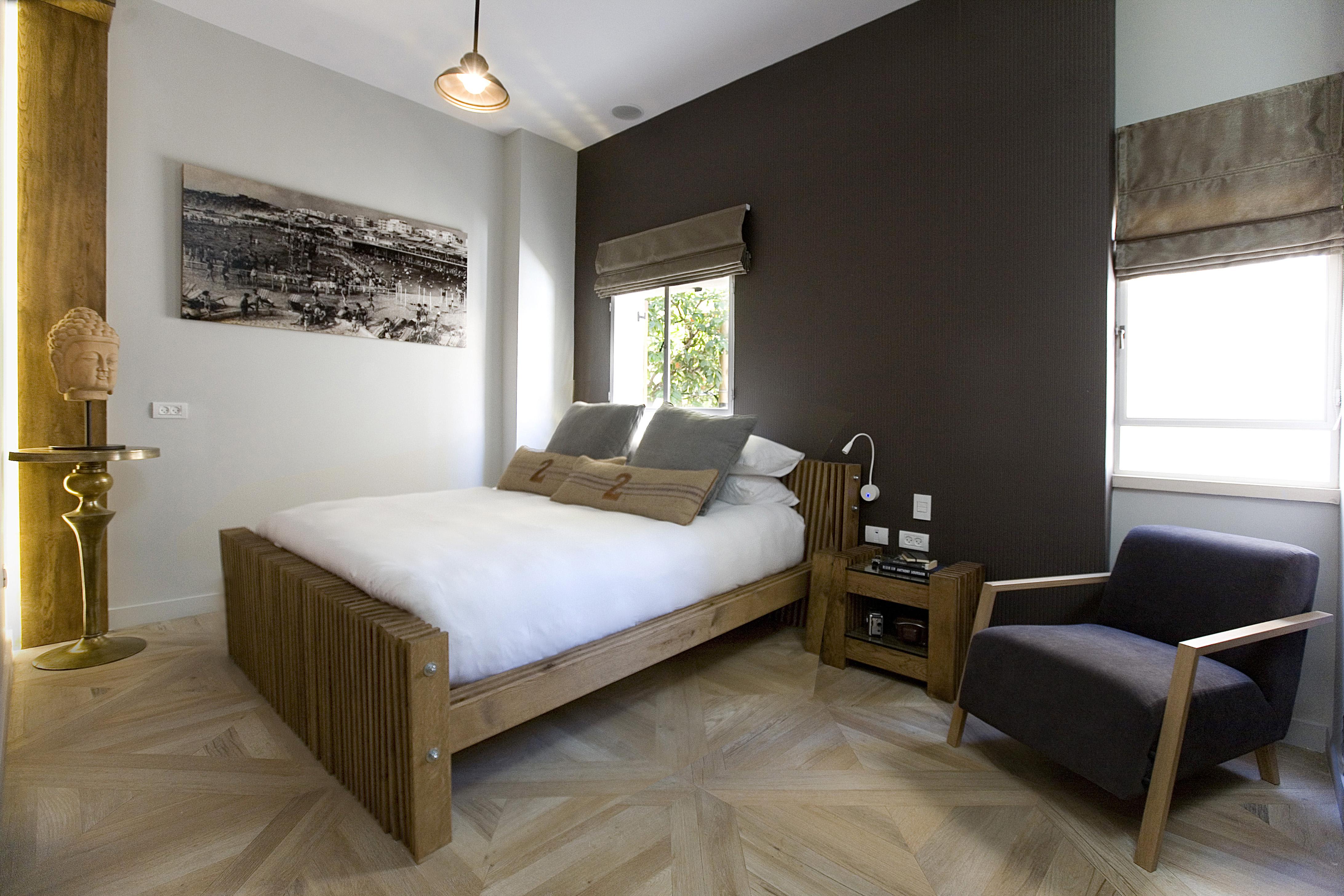 Bedroom area at Boutique Neve Tzedek