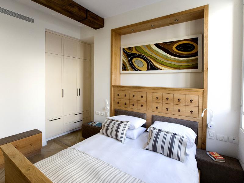 A bed at Boutique Neve Tzedek