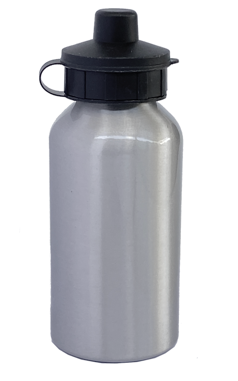 400ml Stainless Steel Water Bottle - Silver