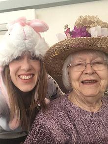 Easter Jennifer Brierley Audrey Furlong