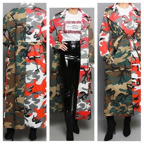 Multi Colored Camo Jacket
