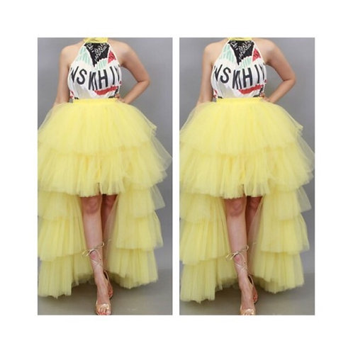 Center Of Attention Tulle Skirt
