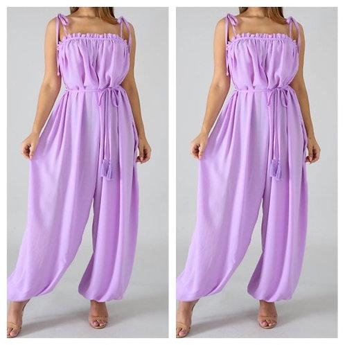 Luscious Lavender Jumpsuit