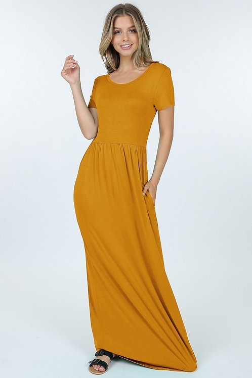 Casual Maxi Dress with pockets