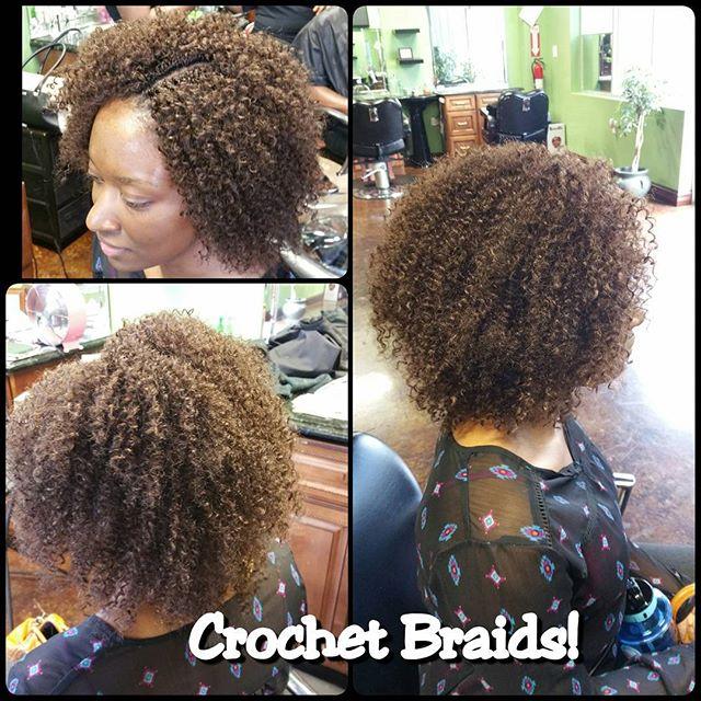Crocheted Curly Hair