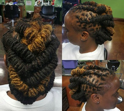 Loc Barrels into a Fishtail