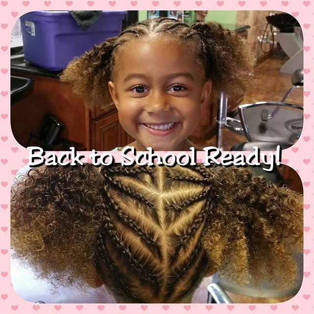Kids Braided Style