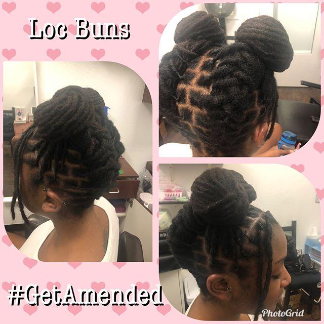 Loc Buns