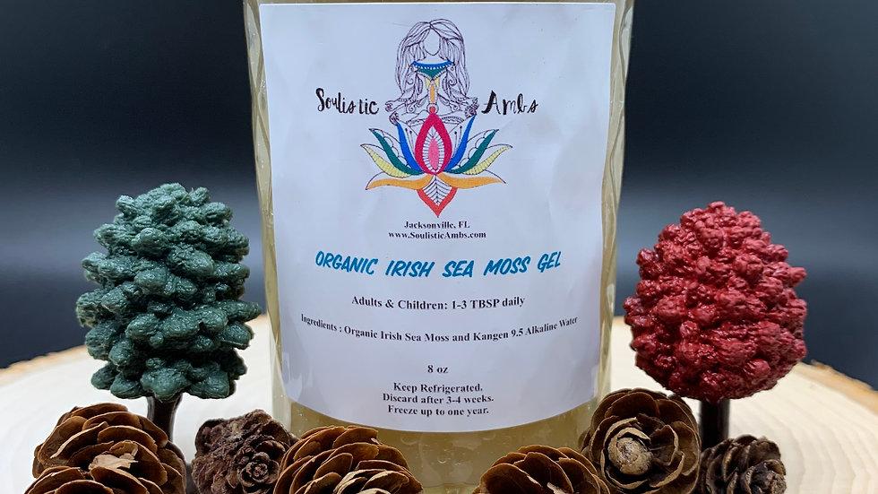 8 oz - Organic Irish Sea Moss Gel