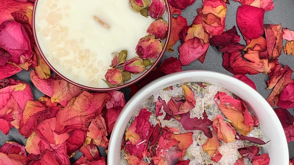 Chocolate Covered Strawberries - Self-Love Candle & Soak