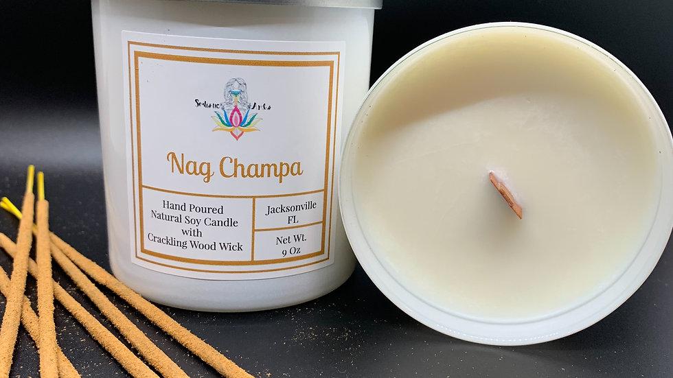 Nag Champa Natural Soy Candle