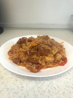 chicken and chorizo jambalayaedited