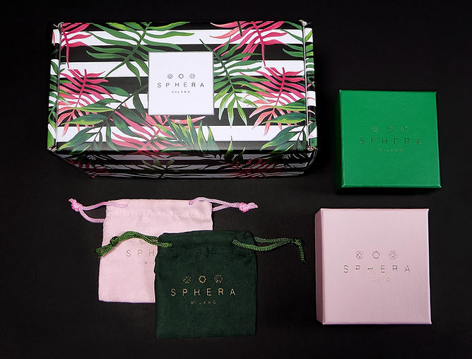 Sphera E-Commerce Packaging, Custom Shipping Box, Custom Gift Boxes, Custom Jewelry Pouches by Commonwealth Packaging Co.