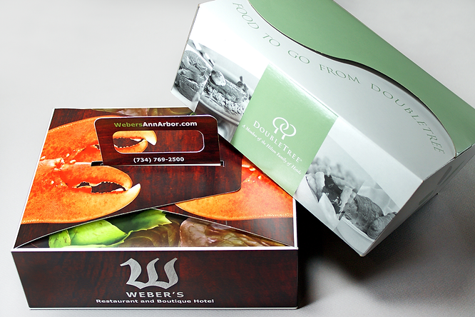 Custom Take-Out / Deliery Boxes by Commonwealth Packaging Co.