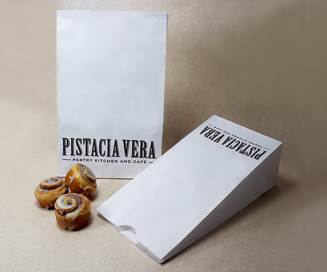 Pistacia Vera Takeout Bag, Hospitality Packaging by Commonwealth Packaging Co.