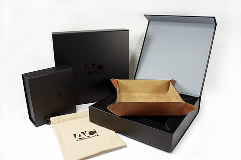 Anson Calder E-Commerce Box, Custom Pouch, Custom Packaging by Commonwealth Packaging Co.