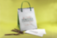 Semplice Catering Custom Printed Take-Out Bag nd Printed Napkins, Hospitality Packaging by Commonwealth Packaging Co.