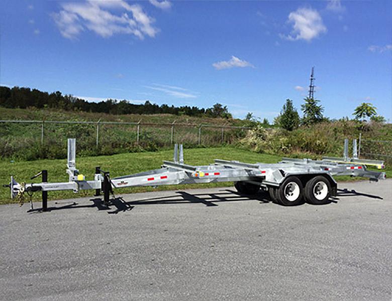HEAVY TRANSMISSION POLE TRAILER w/Securelock™ and LIFETIME WARRANTY Mega-Roller
