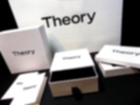 Theory custom printed gift boxes