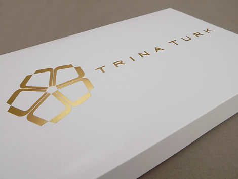 Trina Turk Custom Printed Gift Box, Retail Packaging by Commonwealth Packaging Co.