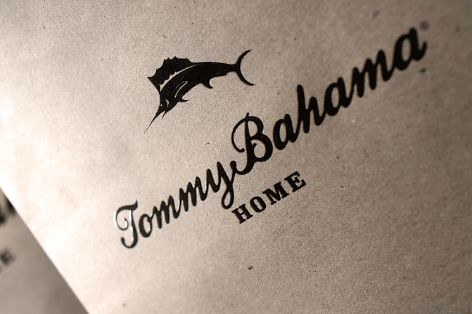 Tommy Bahama Home Retail Packaging, Custom Shopping Bag by Commonwealth Packaging Co.