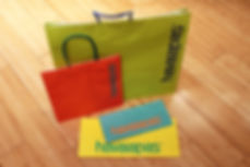 Custom Printed Shopping Bags and Merchandise bags for Havaianas by Commonwealth Packaging Co.