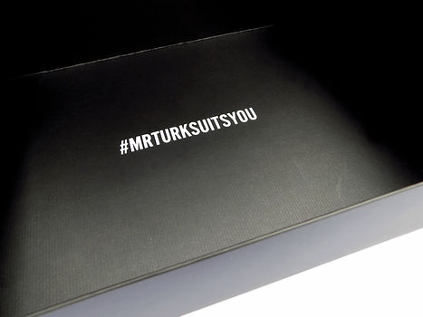 Mr. Turk Custom Printed Gift Box, Retail Packaging by Commonwealth Packaging Co.