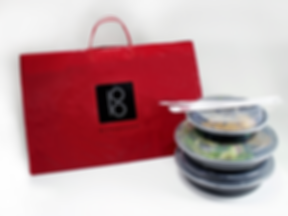 Buddakan Custom Takeout Bag, Hospitality Packaging by Commonwealth Packaging Co.