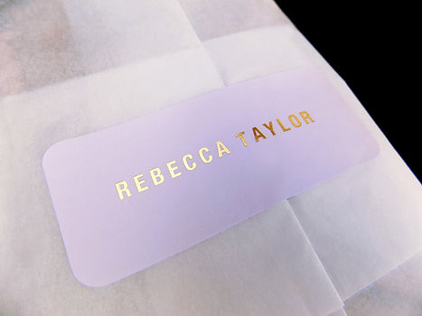 Rebecca Taylor Custom Shopping bag by Commonwealth Packaging Co.