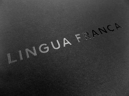 Lingua Franca Custom Printed Shopping Bag, gift box and specialty packaging by Commonwealth Packaging Co.