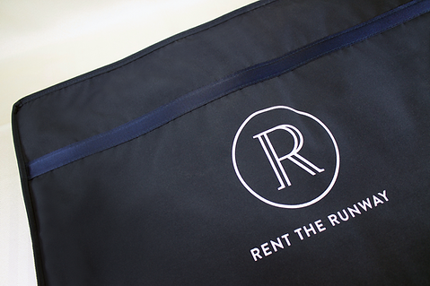 Rent the Runway Custom Custom Shippable Garment Bag by Commonwealth Packaging Co.