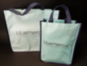 Custom Bluemecury Reusable Totebag