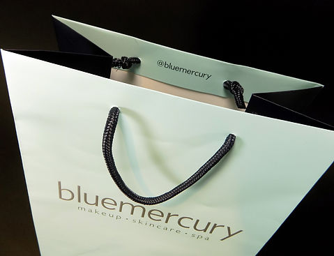 Custom printed Bluemercury box, Retail Packaging, Custom Packaging by Commonwealth Packaging Co.