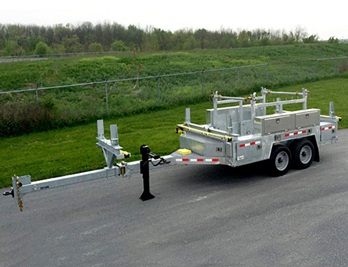 POLE / REEL / CARGO w/ Toolbox and Cord Management Package