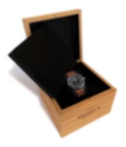 Shinola Custom Watch Box by Commonwealth Packaging Co.