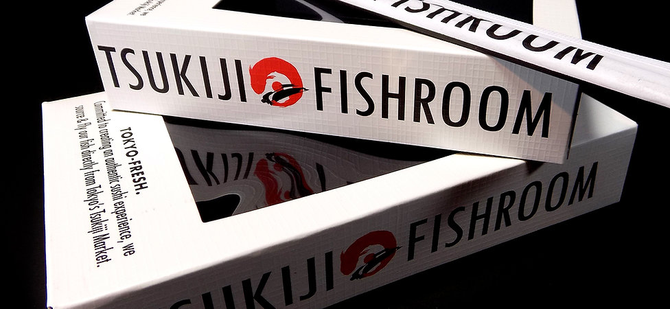 Custom Tsukiji Fishroom Takeout Boxes by Commonwealth Packaging Co. Takeout Boxes